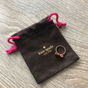 Kate Spade | Red Bow Ring